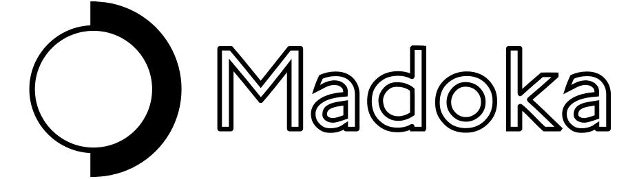 The logo for Madoka